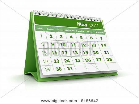 2011 calendar, May