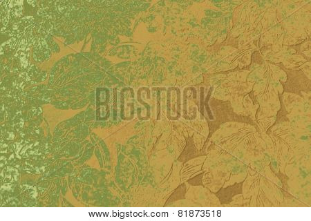 Textile gradiented background