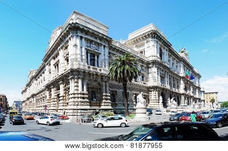 Rome City Palace Of Justice Architecture View On May 30, 2014