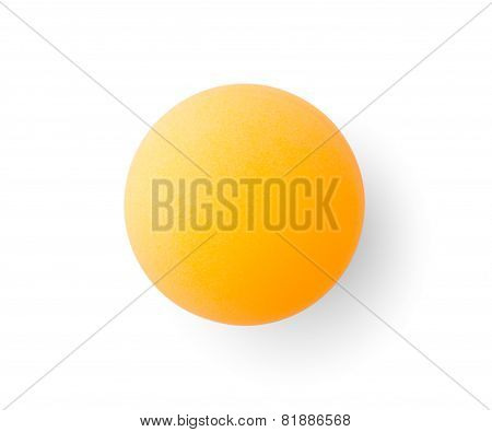 Orange Pingpong Ball