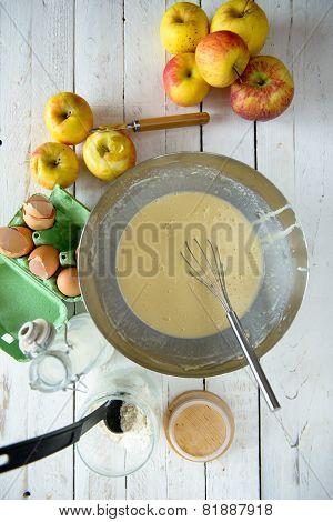 Preparation Of Pancake Batter