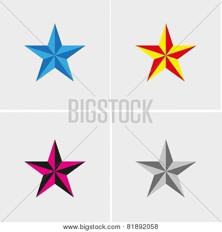 four stars set