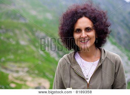 Attractive Woman Outdoor