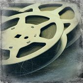 image of mm  - 16 mm reel old movie film archive - JPG