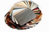 pic of laminate  - Color swatches laminated chipboard and color swatches countertops - JPG