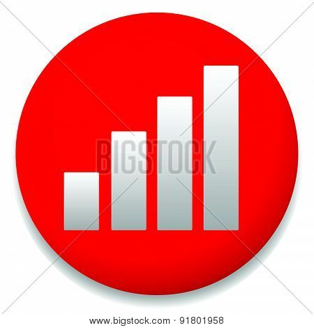 Simple bar chart icon