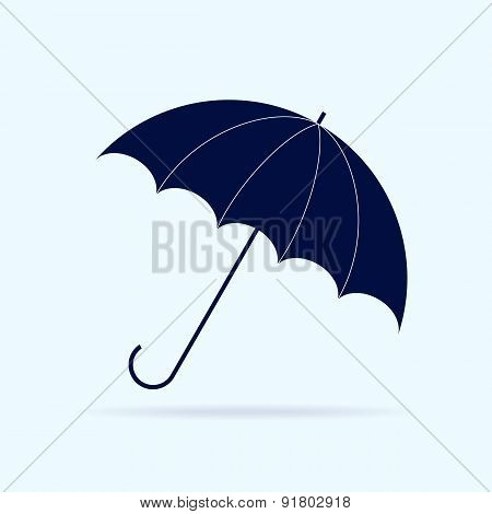Blue Umbrella.