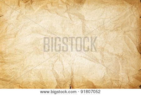 Rumpled Vintage Paper Texture