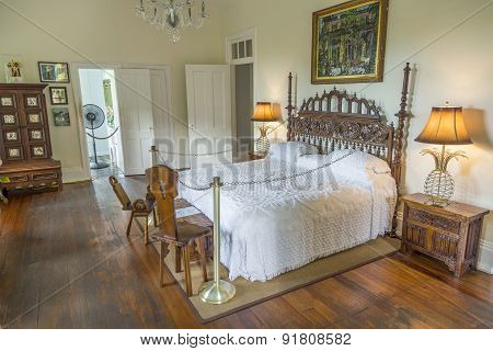 Sleeping Room Of Ernest Hemmingway In Key West