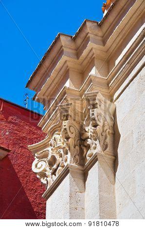 Purgatory church. Barletta. Puglia. Italy.