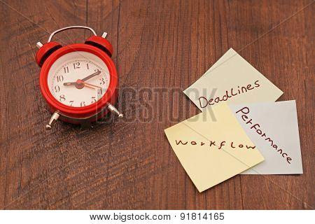 clock notes