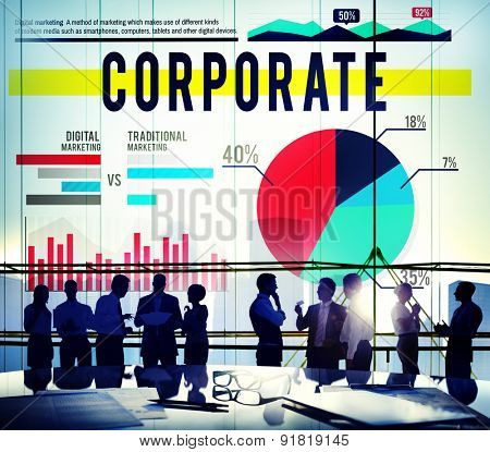 Corporate Business Professional Marketing Concept