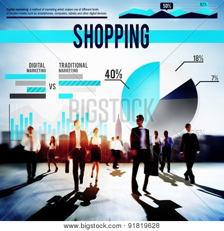 Shopping Buying Marketing Sale Business Concept