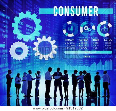 Consumer Customer Loyalty Satisfaction Buyer Concept
