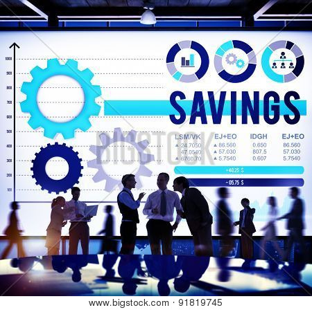 Savings Money Financial Payment Budget Concept