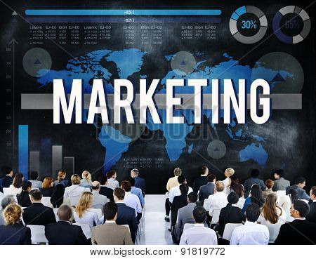 Marketing Commercial Business Analysis Data Concept
