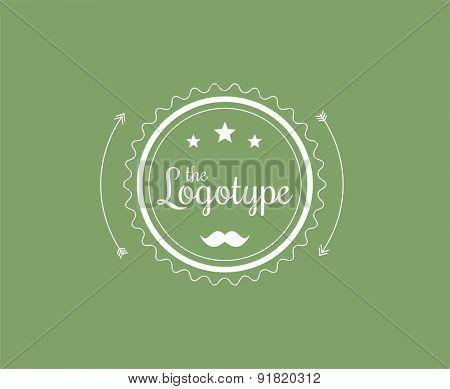 Circle.Abstract vector logo design elements. Arrows, labels, symbols. Vector illustration
