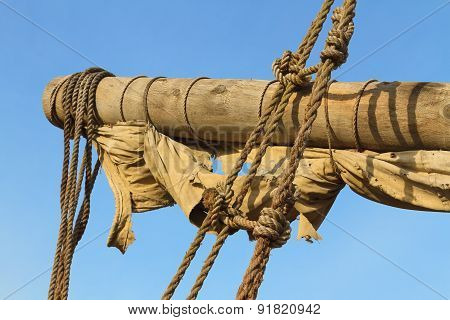 Ship Yard, Sail And Rigging