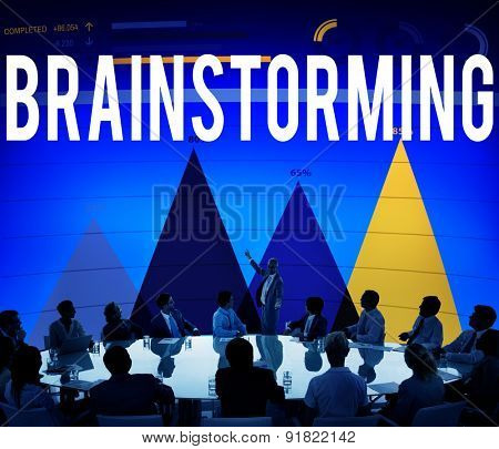 Brainstorming Thinking Planning Sharing Strategy Concept