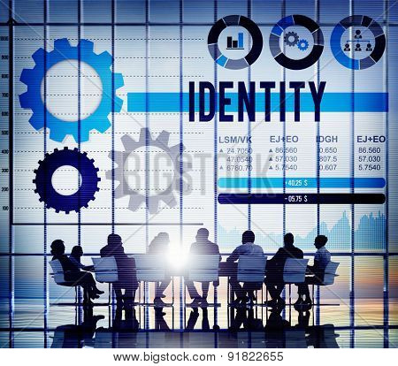 Identity Trademark Copyright Design MArketing Concept