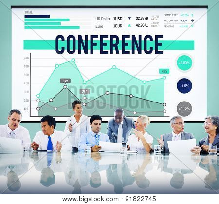 Conference Seminar Meeting Marketing Business Concept