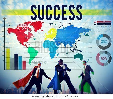 Success Successful Achievement Goal Growth Concept