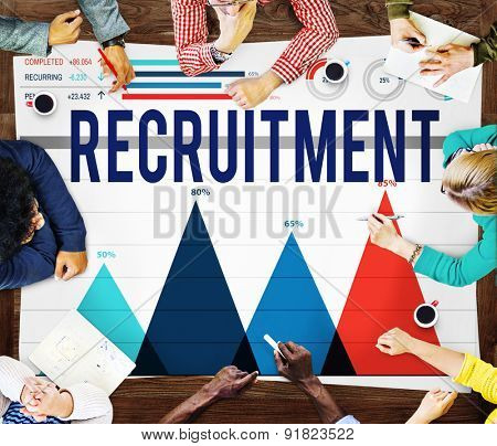 Recruitment Employment Hiring Job Career Concept