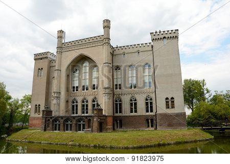 Castle In Kornik City Nearby Poznan In Poland