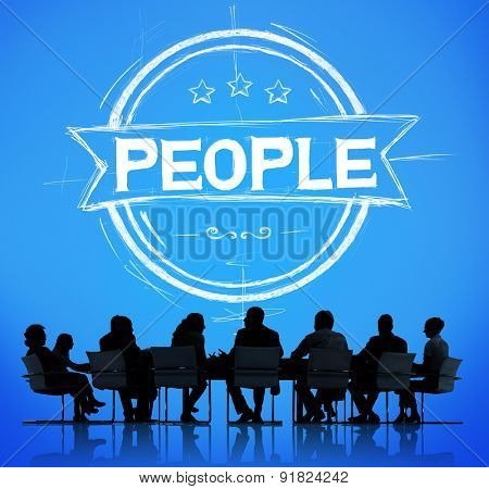 People Human Humanity Individuality Person Concept