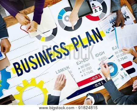 Business Plan Planning Strategy Development Objective Concept
