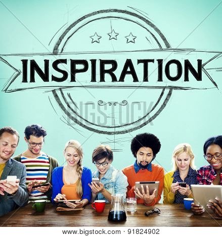 Inspiration Motivation Mission Goal Believe Concept