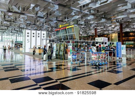 Changi Airport Terminal 3 Departure Hall