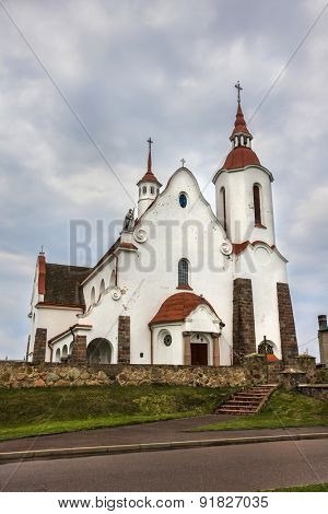 Catholic Church in village Soly, Grodno region, Belarus.