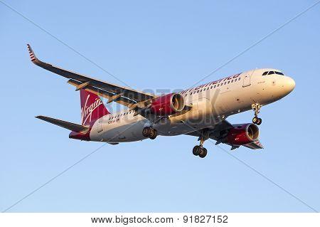 Virgin America Airbus A320