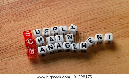 Scm Supply Chain Management On Wood