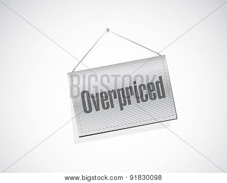 Overpriced Hanging Sign Concept