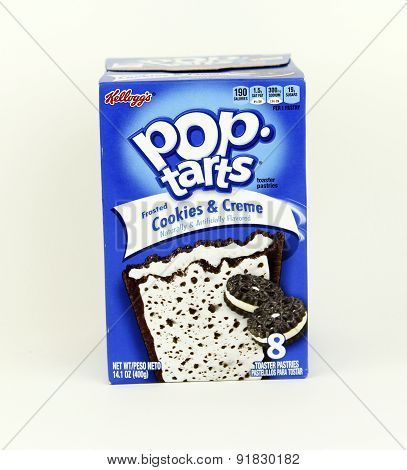 Box Of Cookies And Creme Pop Tarts