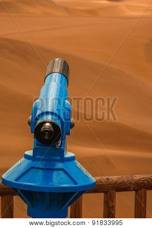 Telescope for the sand dunes