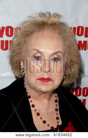 LOS ANGELES - MAY 27:  Doris Roberts at the Missing Marilyn Monroe Images Unveiled at the Hollywood Museum  on May 27, 2015 in Los Angeles, CA