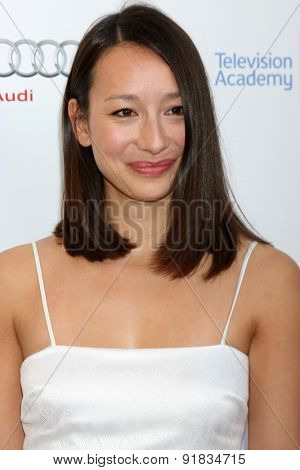 LOS ANGELES - MAY 27:  Joanna Natasegara at the 8th Annual Television Academy Honors - Arrivals at the Montage Hotel on May 27, 2015 in Beverly Hills, CA