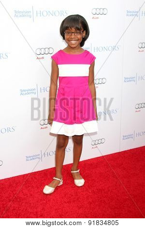 LOS ANGELES - MAY 27:  Marsai Martin at the 8th Annual Television Academy Honors - Arrivals at the Montage Hotel on May 27, 2015 in Beverly Hills, CA