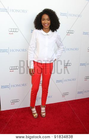 LOS ANGELES - MAY 27:  Yara Shahidi at the 8th Annual Television Academy Honors - Arrivals at the Montage Hotel on May 27, 2015 in Beverly Hills, CA