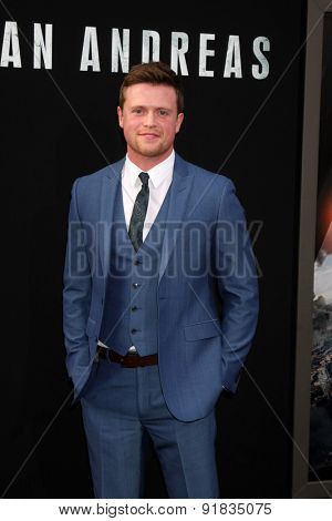 LOS ANGELES - MAY 26:  Hugo Johnstone-Burt at the
