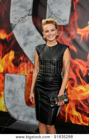 LOS ANGELES - MAY 26:  Malin Akerman at the