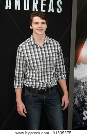 LOS ANGELES - MAY 26:  Joel Courtney at the
