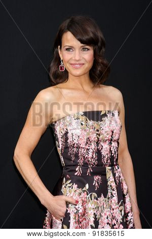 LOS ANGELES - MAY 26:  Carla Gugino at the