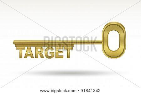 Target - Golden Key