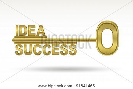 Idea Success - Golden Key