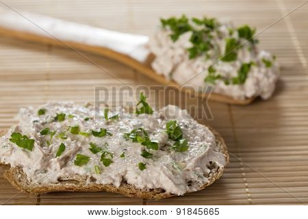 Pate With Bread