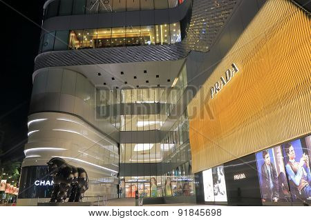 Shopping mall Bangkok Thailand